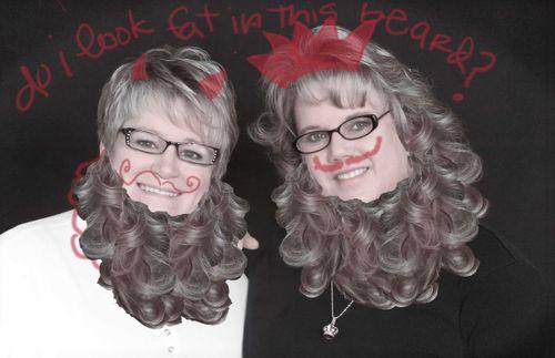 Bearded-sisters