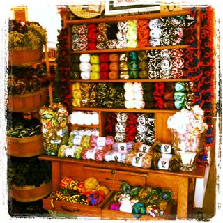 Lovely New Yarns of all Colors and Kinds!