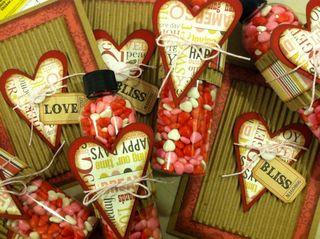 Valentines card class copy